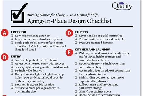 universal design home checklist stay right there universal design checklist remodeling