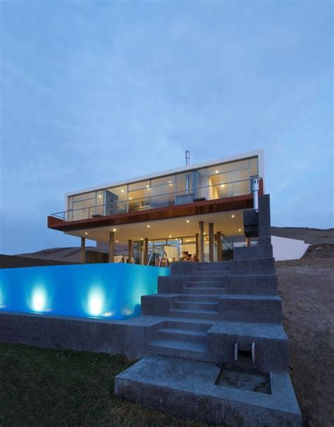 modern mansion beach house architecture stunning ultramodern beach house with overflowing pool