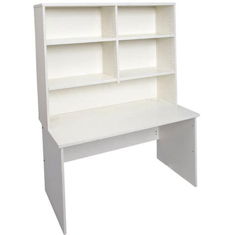 express white office desk with hutch office stock