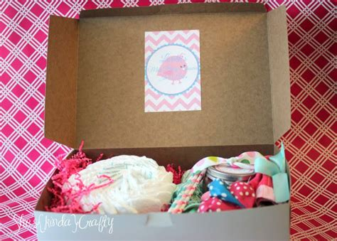 Baby Shower In A Box by Mini Baby Shower In A Box Shes Kinda Crafty