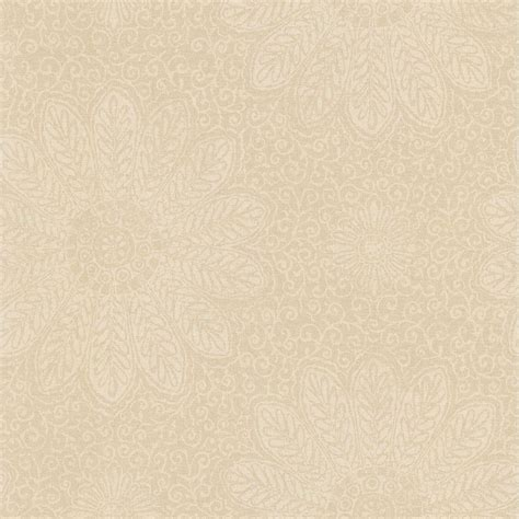 tribe beige modern floral scroll wallpaper 301 66947 the home depot