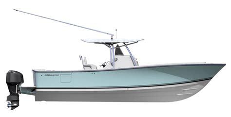 regulator boat company regulator marine introduces new 31 center console
