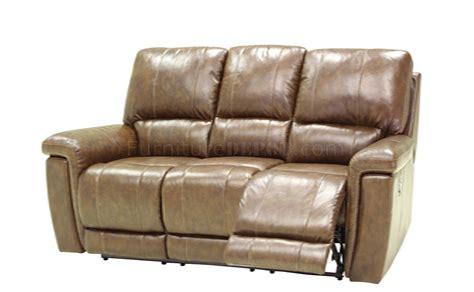 Leather Motion Sofa Hazelnut Leather Modern Motion Living Room Sofa W Options