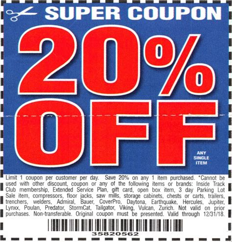 harbor freight coupons 20 off printable harbor freight printable coupons freepsychiclovereadings com