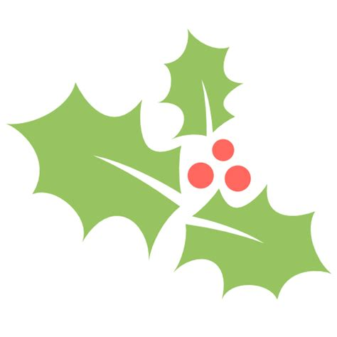 images of christmas holly leaves holly leaf icon flat christmas iconset psdblast