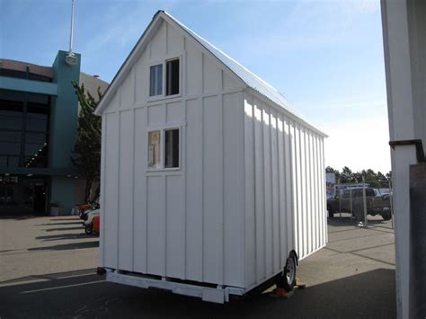 Shed On Wheels by Portable Sheds Non Warping Patented Honeycomb Panels And