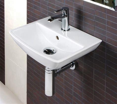 hand basins for bathrooms rak summit 1 tap hole wall hung hand basin 400mm sum40bas1