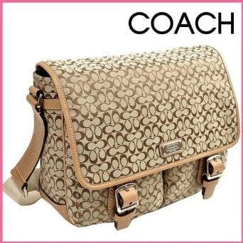 Coach Signature Massenger Bag Large Authentic Product discounted coach luggage and bags