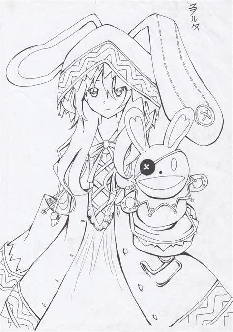 live coloring date a live kurumi tokisaki sketch coloring page