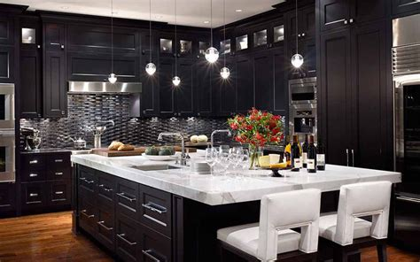 What Is The Best Way To Paint Kitchen Cabinets by Kitchen Design Tips For Dark Kitchen Cabinets
