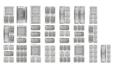 qt layout weight types of food pans food pan buying guide