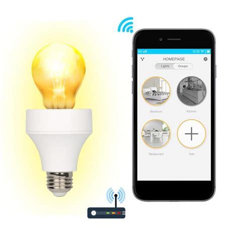wifi light bulb adapter lustreon e26 e27 wifi smart light bulb adapter l holder