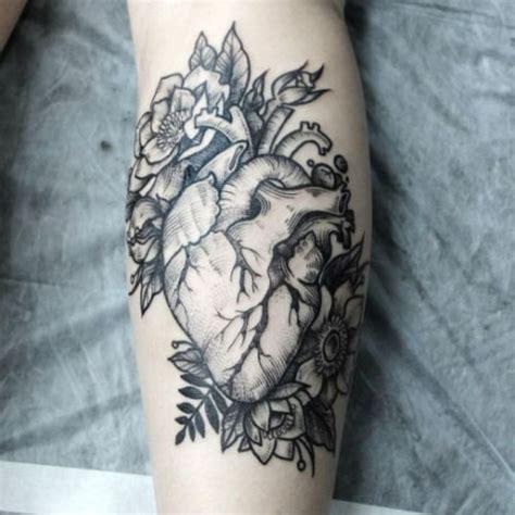 tattoo flower heart tatuajes de corazones