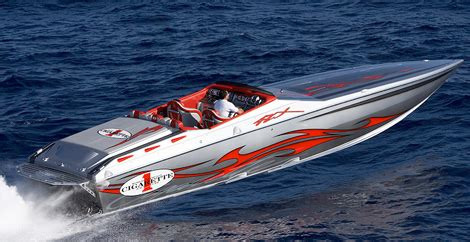 cigarette boat company boat maker of choice for drug smugglers now marketing to cops