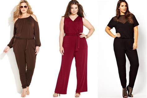 a style guide on jumpsuits for plus size women