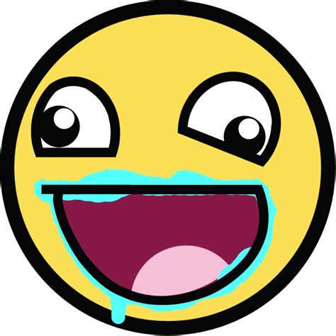 Meme Smiley Face - epic face awesome smiley