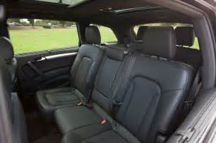 Audi Q7 Seats How Many 2013 Audi Q7 3 0t S Line Rear Seats 204912 Photo 13