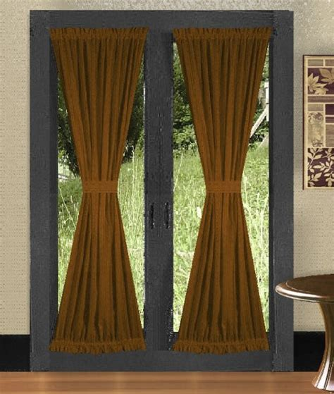 colored shower solid copper brown colored shower curtain