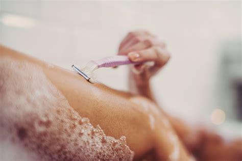 tweezing vs shaving pubic area for women shaving vs waxing what s better for your skin