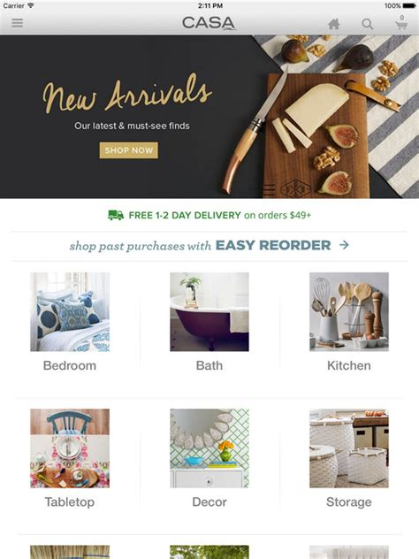 the best iphone apps for home decoration apppicker casa com d 233 cor bed bath cookware and home goods