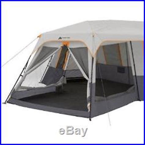 Ozark Trail 12 Person 3 Room Cabin Tent by Ozark Trail 12 Person 3 Room Instant Cabin Tent With