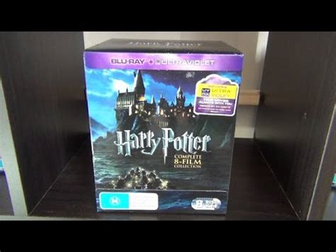 arachnophobia film blu ray unboxing harry potter complete 8 film collection blu ray unboxing