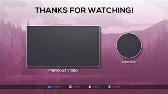 Outro Template by Free 2017 Outro Template Tristan Nelson Sellfy