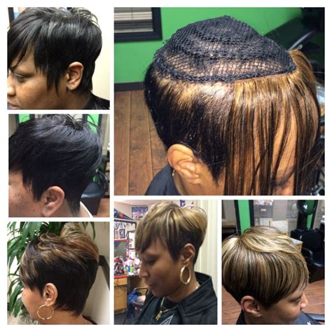 sew in weave short hair atlanta 112 best images about short weave styles on pinterest