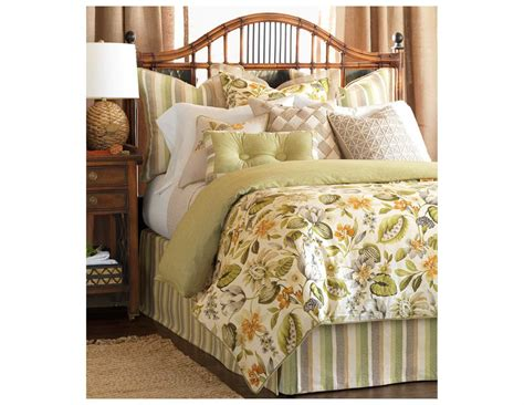 tufted comforter eastern accents stelling palm button tufted comforter