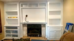 wall unit bookcases fireplace wall unit with bookcases in white lacquer