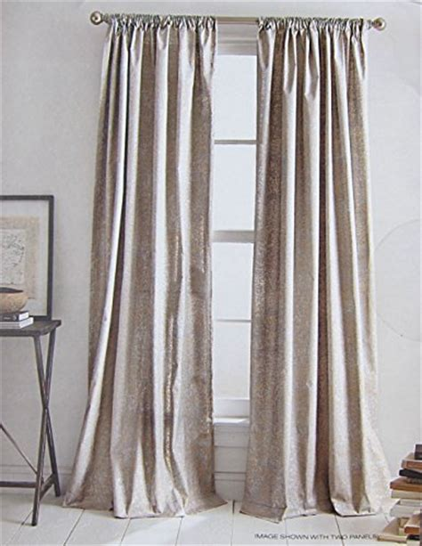 dkny curtains drapes dkny mineral taupe silver rod pocket curtains 100 cotton