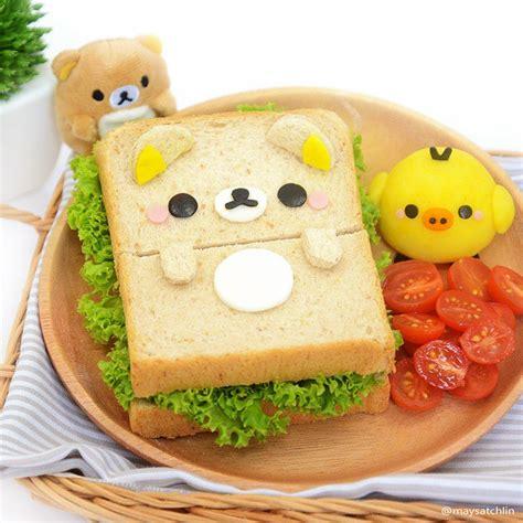 Rilakkuma Sandwich rilakkuma kiiroitori again bento obento charaben