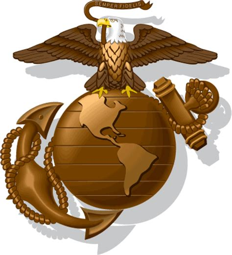 custom eagle globe and anchor watching his six tattoos jarhead marine corps wall stickers emblems eagle