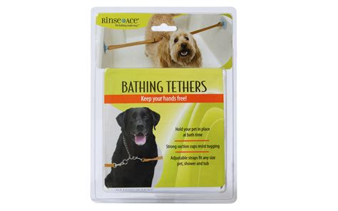 Rinse Ace Pet Shower by Shower Restraint Shower Tether Bathing Tethers Rinse Ace