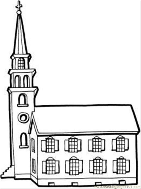 best photos of church template to print church cut out coloring pages of a church coloring home