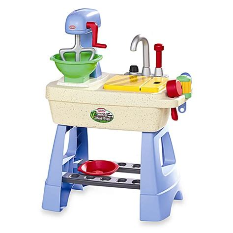 Little Tikes 174 Makin Mud Pies Kitchen Set Bed Bath Beyond Tikes Kitchen Set