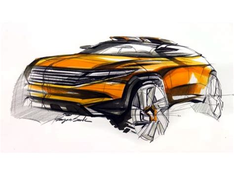 SUV design sketch video   Car Body Design