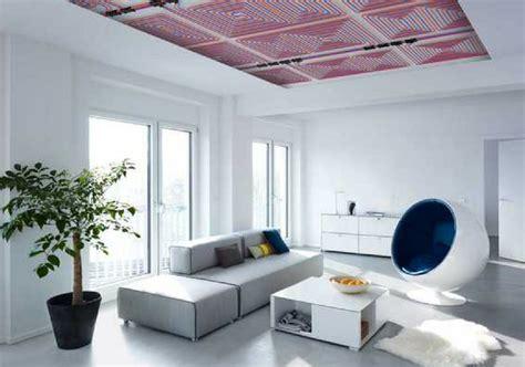 impianto a soffitto meglio il riscaldamento a pavimento a soffitto o a parete