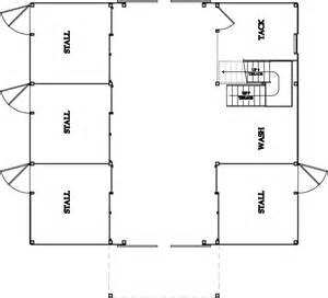 Barn Floor Plan 187 Stable Floor Plans