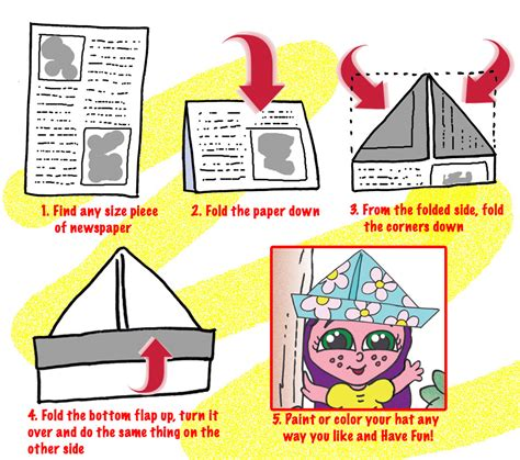 How To Make A Paper Hat A4 - make your own paper hat 28 images st patricks day