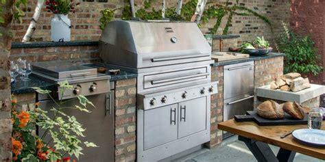 Moderne Outdoor Küchen by K 252 Che Outdoor Gemauert