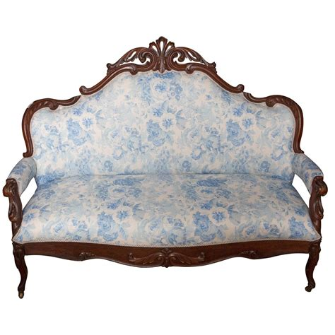 victorian style settee victorian settee for sale at 1stdibs