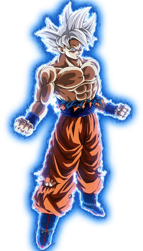 Master Goku goku master ui no background by blackflim deviantart