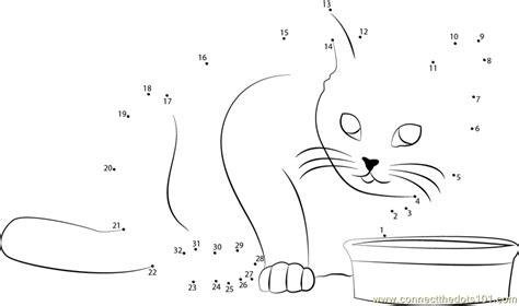 printable dot to dot cat look cat me dot to dot printable worksheet connect the dots
