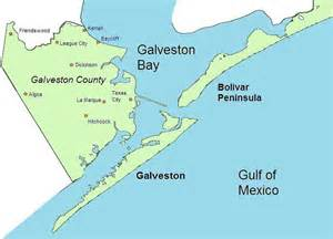 galveston on map file galveston county map jpg