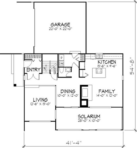 passive solar floor plans one story passive solar house plans house plans