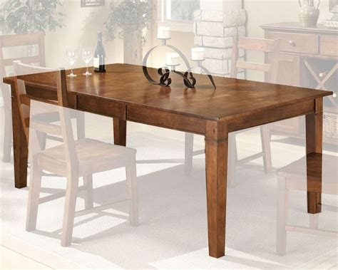 Rubber Wood Dining Table Intercon Solid Rubberwood Dining Table Scottsdale Insc4278tab