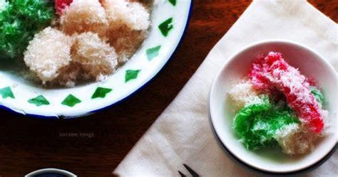 resep  membuat kue cenil warna istimewa catatan