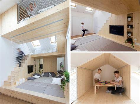 kinder schlafzimmer schlafzimmer mit spielbereich f 252 r die kinder ruetemple