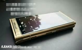 samsung smart flip phone  leaks  pictures  video